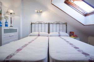 Dormitorio doble dos camas 90cm
